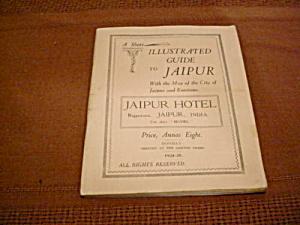 Travel Guide Jaipur India 1924-25 (Image1)
