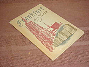 Frankfurt Germany am Main Illustrated Book (Image1)