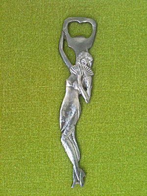 Art Nouveau Bottle Opener Nude Woman (Image1)
