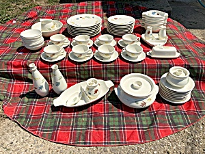 50+ Pc Franciscan Autumn Leaves Dinner Set  (Image1)