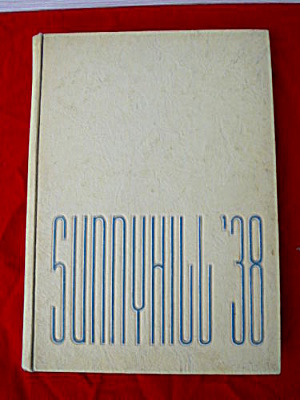 1938-39 Bridgeport Ohio High School Yearbooks