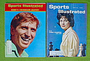 Bobby Fischer & Lisa Lane Chess Champion SI's (Image1)