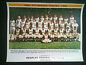 Original 1966 Pittsburgh Pirates Team Photo (Image1)