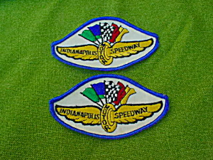 Pr. of Indianapolis Speedway Patches (Image1)
