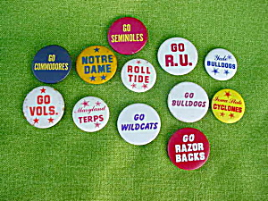 College Pinback Collection (Image1)