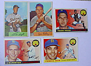 Detroit Tigers 50's Baseball Cards (Image1)