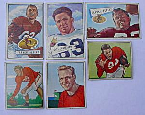 San Francisco 49ers 50s Bowman Football Cards (Image1)