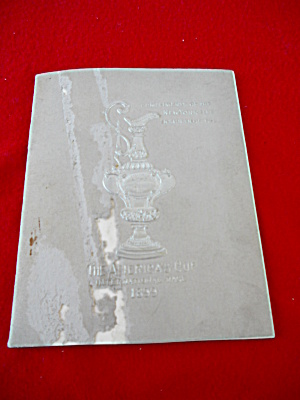 1899 America's Cup Booklet Yacht Racing (Image1)