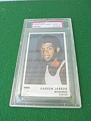 1972 Icee Bear Kareem Abdul Jabbar Card (Image1)