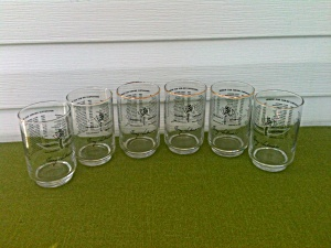 Indianapolis 500 Glasses 1963 Parnelli Jones