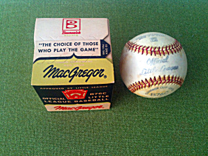Macgregor Little League Baseball B76c Mib