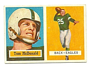 Tommy Mcdonald Rookie Philadelphia Eagles