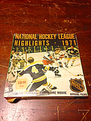 1971 Nhl 8mm Film Season Highlights Sealed