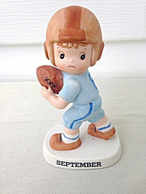 Lefton Boy Football Player Figure