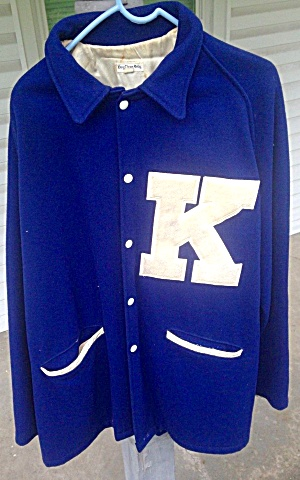Kentucky Wildcats Football Letterman Sweater (Image1)