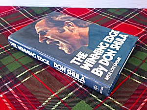 Don Shula The Winning Edge 1st Ed. Book
