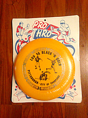 70's Whirley Frisbee Pittsburgh Sports Sealed
