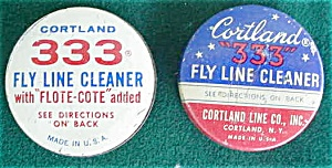 Pr. of Cortland Fly Fishing Line Cleaning Tin (Image1)