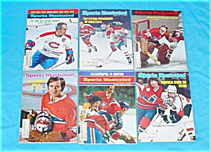 1970's Montreal Canadiens Sports Illustrated (Image1)