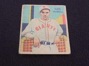 1935 DIAMOND STARS CARL HUBBELL NY GIANTS (Image1)