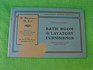 Early, Sternau Bathroom Furnishings Catalog