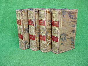 4 Vol. Works of Peter Pindar Dated 1812 (Image1)