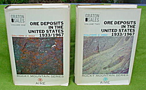 2 Vol. Ore Deposits In The U.s. 1933-67