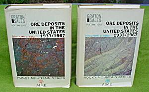 2 Vol. Ore Deposits in the U.S. 1933-67 (Image1)