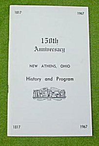 150th Anniversary New Athens, Oh History Book