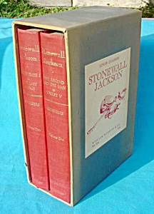 Stonewall Jackson 2 Vol. Book Set