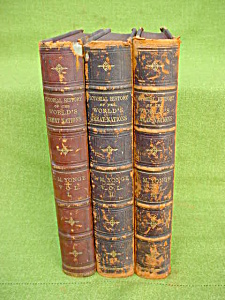 1800s 3 Vol Pic. History Worlds Great Nations (Image1)