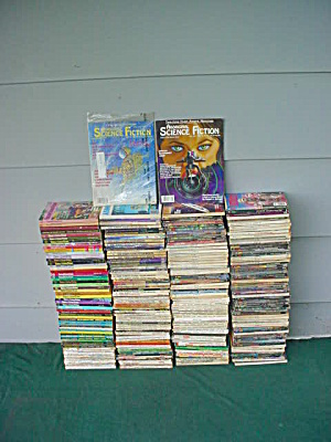 Huge Lot 70's To 80's Sci-fi Magazines