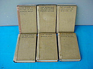 1905 Theodore Roosevelt 6-part Book Set