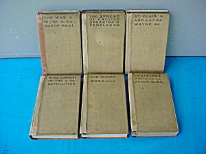 1905 Theodore Roosevelt 6-Part Book Set (Image1)