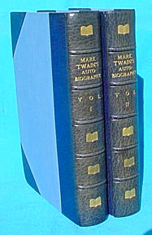 2 Vol. Mark Twain's Autobiography (Image1)