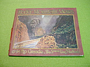Rocky Mountain Views on the Rio Grande Book (Image1)