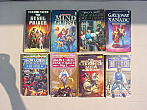 Sharon & Simon Green Sci-Fi Book Collection (Image1)