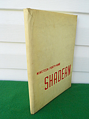1949 Shadyside High School Yearbook Annual
