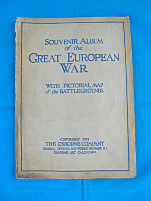 Souvenir Album Great European War Osborne Co. (Image1)