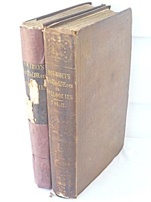 Sir Thomas More Robert Southey 2 Vol Set 1831 (Image1)