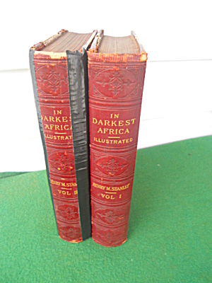 2 Vol. In Darkest Africa Henry Stanley 1890 (Image1)