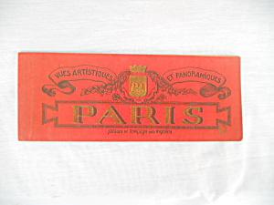Artistic Panoramic Views of Paris France Book (Image1)