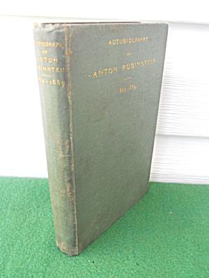 Autobiography Anton Rubinstein 1829-89 (Image1)