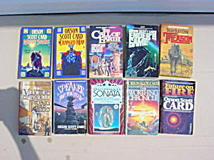 Oscar Scott Card Sci-Fi Book Collection (Image1)