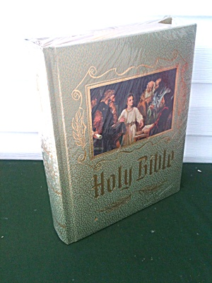 Unused/sealed 1971 Holy Bible Master Ref Ed.