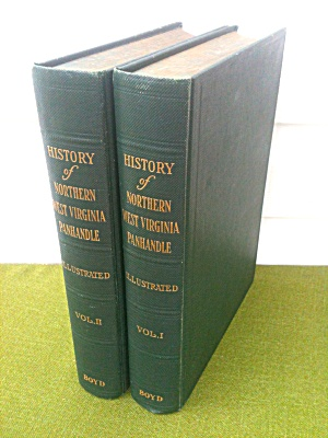 Northern West Virginia Panhandle History Set
