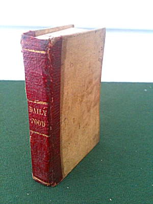 Mini Book Daily Food for Christians 1842 (Image1)