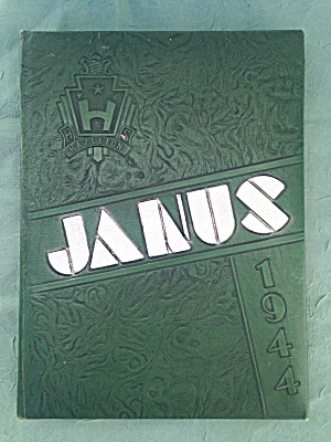 1944 Hazelton, Pa JANUS High School Yearbook  (Image1)