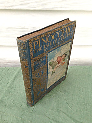 Pinocchio Tale of a Puppet C. Collodi Folkard (Image1)