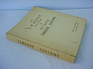 1960 Tambour Curtains Hexter Salesman Catalog